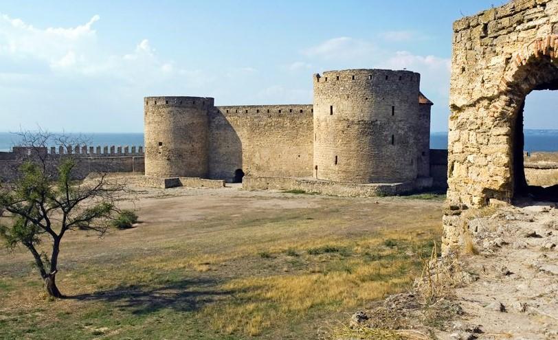 Аккерманська фортеця фото всередині